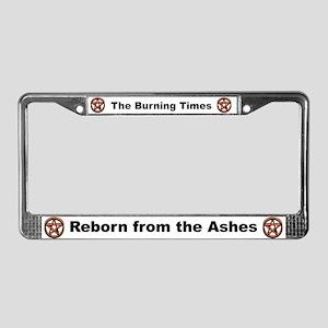 Pentagram License Plate Frame