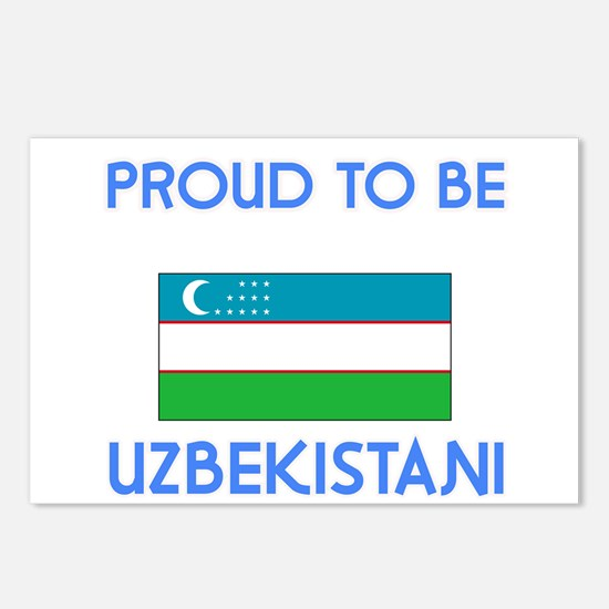 Proud to be Uzbekistani Postcards (Package of 8)