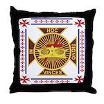The Templars Throw Pillow