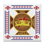 The Templars Tile Coaster