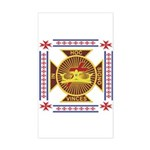 The Templars Sticker (Rectangle)