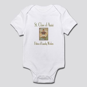 St. Clare of Assisi Infant Bodysuit