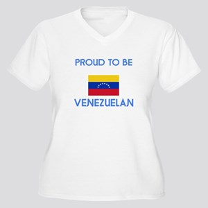 Proud to be Venezuelan Plus Size T-Shirt