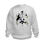Langdon Family Crest Kids Sweatshirt