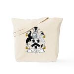 Langdon Family Crest Tote Bag