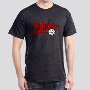 Polska Volleyball Dark T-Shirt