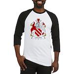 Lancelot Family Crest   Baseball Jersey