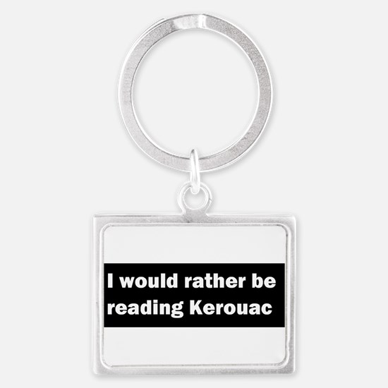 Unique Quotations Landscape Keychain