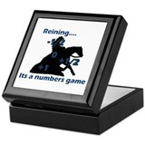 Reining Square Keepsake Boxes