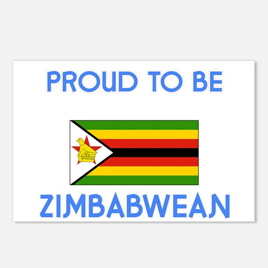 Proud to be Zimbabwean Postcards (Package of 8)