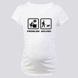 Smooth Collie Maternity T-Shirt