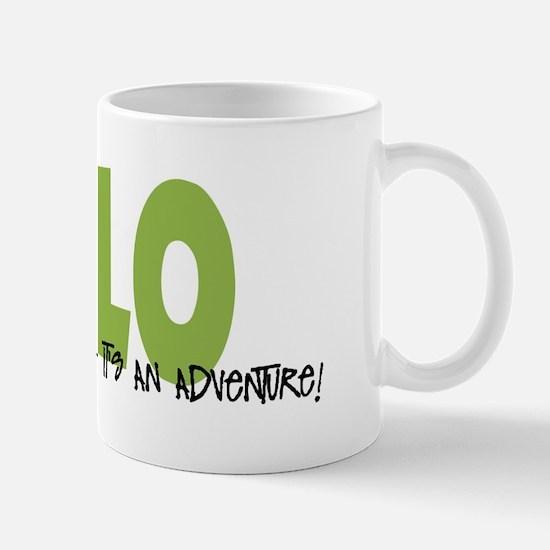 Xolo IT'S AN ADVENTURE Mug