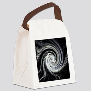Plasma Swirl Canvas Lunch Bag