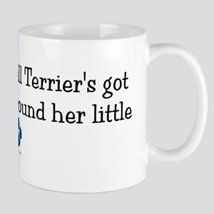 Wrapped Around Her Paw (Jack Russell Terrier) Mug