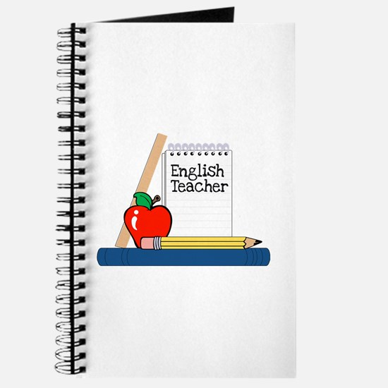 English Teacher (Notebook) Journal