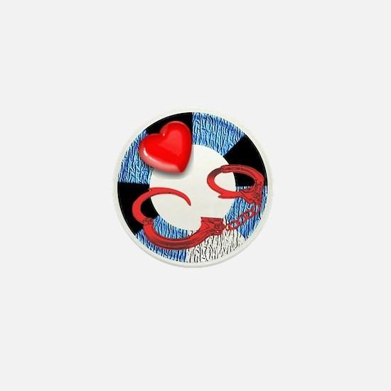 LEATHER PRIDE RING/CUFFS2 Mini Button