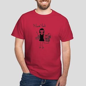 New Yorker Dark Colors T-Shirt