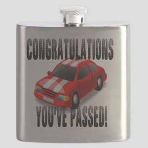 Congratulation, You've Passed Driving Test Flask