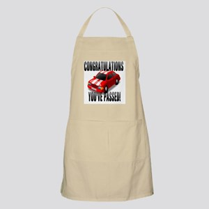 Congratulation, You've Passed Driving Test Apron