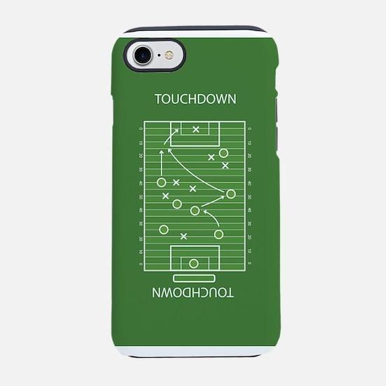 Football field iPhone 7 Tough Case