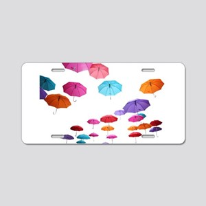 Umbrella sunshade parasol p Aluminum License Plate