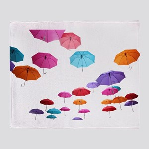 Umbrella sunshade parasol pattern de Throw Blanket
