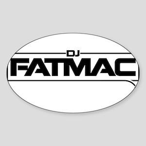 dj fatmac Sticker