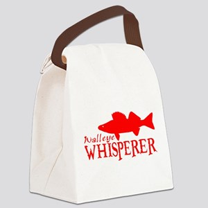 WALLEYE WHISPERER Canvas Lunch Bag