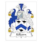 Kilborn Family Crest Small Poster