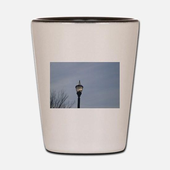 Funny Lamppost Shot Glass