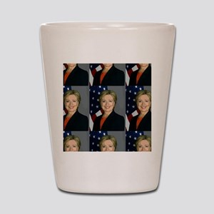 hillary clinton Shot Glass