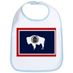 Wyoming State Flag Bib
