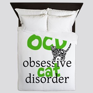 Cat Disorder Queen Duvet