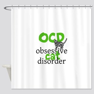 Cat Disorder Shower Curtain