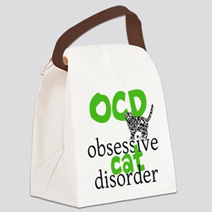 Cat Disorder Canvas Lunch Bag