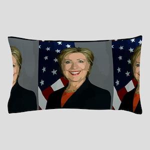 hillary clinton Pillow Case