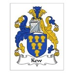 Kew Family Crest Small Poster