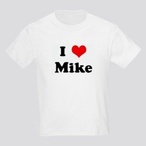I Love Mike Kids Light T-Shirt