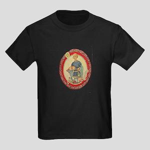 Vintage Christmas morning Kids Dark T-Shirt