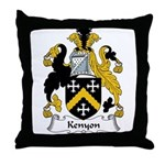 Kenyon Family Crest Throw Pillow