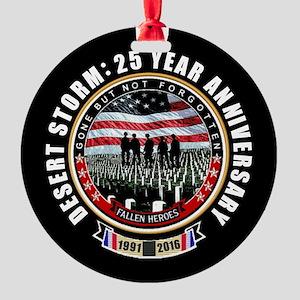 Desert Storm 25 Ornament