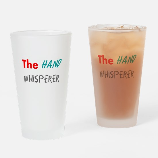 Funny Hand Drinking Glass