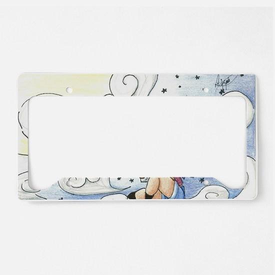 Konomoru Star Clouds License Plate Holder