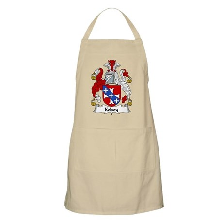 Kelsey Family Crest BBQ Apron