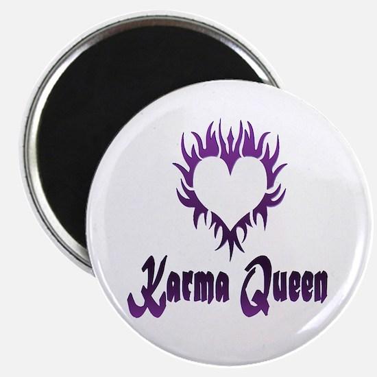 "Karma Queen 2.25"" Magnet (100 pack)"