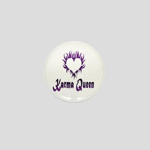Karma Queen Mini Button