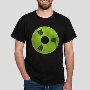 Recording Tape Spool - Martian Green T-Shirt