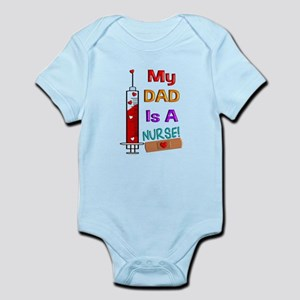 Dad is a Nurse Body Suit