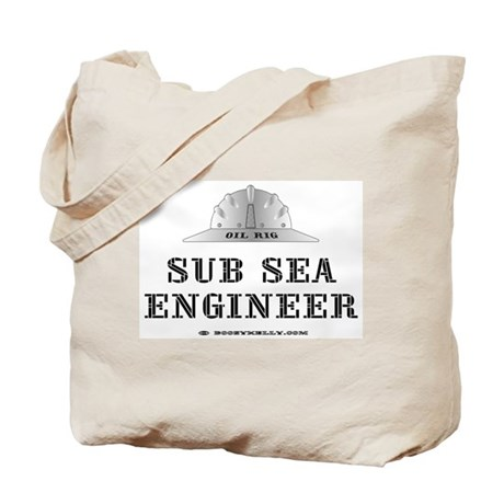 Sub Sea Engineer Tote Bag