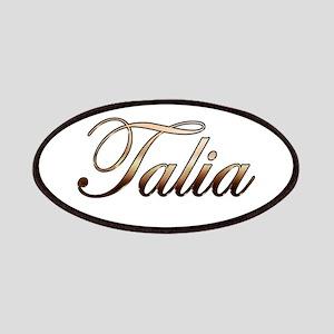 Gold Talia Patch